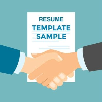 Internet resume template free